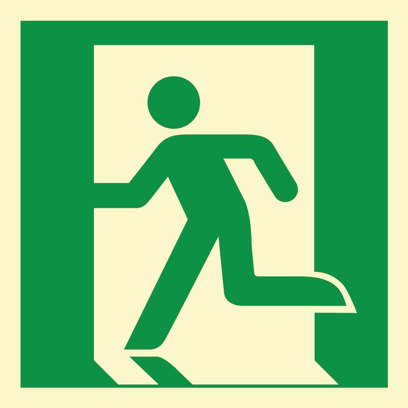 Znaki Ewakuacyjne Znak Drzwi Ewakuacyjne